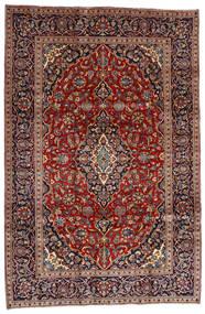 Golpayegan Covor 205X307 Orientale Lucrat Manual Roșu-Închis/Negru (Lână, Persia/Iran)