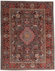 Kashmar Covor 296X376 Orientale Lucrat Manual Roșu-Închis/Gri Închis Mare (Lână, Persia/Iran)