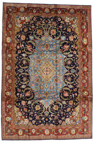 Sarouk Sherkat Farsh Covor 231X344 Orientale Lucrat Manual Maro Închis/Mov Închis (Lână, Persia/Iran)