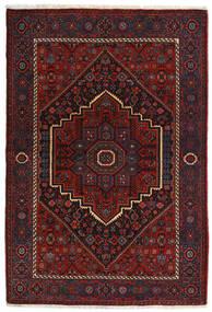 Gholtogh Covor 104X152 Orientale Lucrat Manual Roșu-Închis (Lână, Persia/Iran)