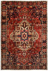 Bakthiari Covor 214X316 Orientale Lucrat Manual Maro Închis/Roșu-Închis (Lână, Persia/Iran)