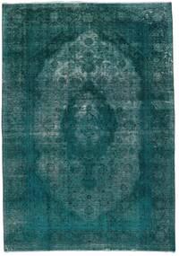 Vintage Heritage Covor 235X336 Modern Lucrat Manual Întuneric Turquoise/Albastru Turcoaz (Lână, Persia/Iran)