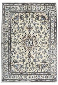 Nain Covor 166X235 Orientale Lucrat Manual Gri Închis/Gri Deschis (Lână, Persia/Iran)