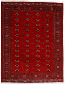 Pakistan Bukhara 3Ply Covor 247X318 Orientale Lucrat Manual Roșu-Închis/Roşu (Lână, Pakistan)