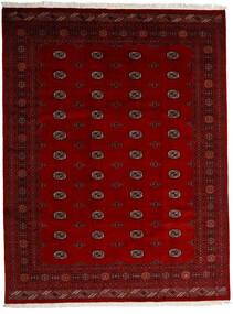 Pakistan Bukhara 3Ply Covor 247X319 Orientale Lucrat Manual Roșu-Închis/Roşu/Maro Închis (Lână, Pakistan)