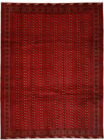 Turkaman Covor 252X337 Orientale Lucrat Manual Roşu/Ruginiu Mare (Lână, Persia/Iran)