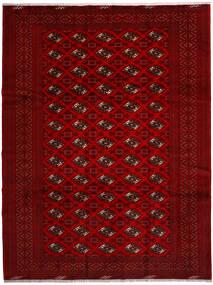 Turkaman Covor 258X344 Orientale Lucrat Manual Roşu/Roșu-Închis/Maro Închis Mare (Lână, Persia/Iran)