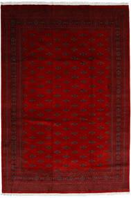 Pakistan Bukhara 3Ply Covor 246X358 Orientale Lucrat Manual Roșu-Închis/Roşu/Maro Închis (Lână, Pakistan)