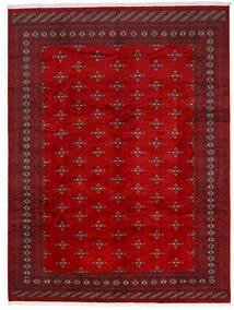 Pakistan Bukhara 2Ply Covor 275X369 Orientale Lucrat Manual Roșu-Închis/Ruginiu Mare (Lână, Pakistan)