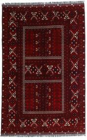 Kunduz Covor 162X248 Orientale Lucrat Manual Maro Închis/Roșu-Închis (Lână, Afganistan)