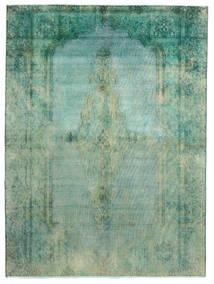 Vintage Heritage Covor 189X256 Modern Lucrat Manual Verde Pastel/Albastru Turcoaz (Lână, Persia/Iran)
