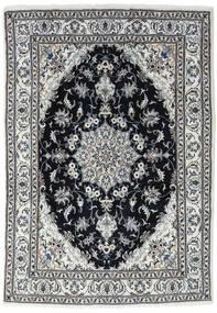 Nain Covor 170X245 Orientale Lucrat Manual Gri Deschis/Gri Închis/Negru (Lână, Persia/Iran)