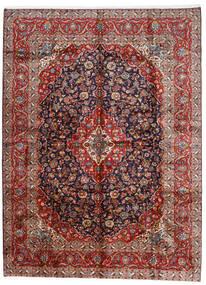 Kashan Covor 296X400 Orientale Lucrat Manual Roșu-Închis/Mov Închis Mare (Lână, Persia/Iran)