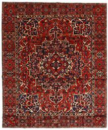 Bakthiari Covor 310X370 Orientale Lucrat Manual Roșu-Închis/Ruginiu Mare (Lână, Persia/Iran)