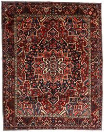 Bakthiari Covor 303X390 Orientale Lucrat Manual Roșu-Închis Mare (Lână, Persia/Iran)