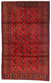 Beluch Covor 115X185 Orientale Lucrat Manual Roșu-Închis/Ruginiu (Lână, Afganistan)