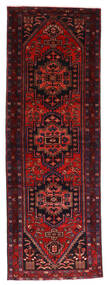Hamadan Covor 103X297 Orientale Lucrat Manual Roșu-Închis (Lână, Persia/Iran)