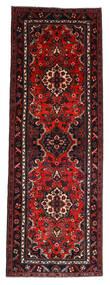 Hamadan Covor 112X314 Orientale Lucrat Manual Roșu-Închis/Ruginiu (Lână, Persia/Iran)
