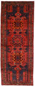 Hamadan Covor 112X289 Orientale Lucrat Manual Roșu-Închis/Maro Închis (Lână, Persia/Iran)