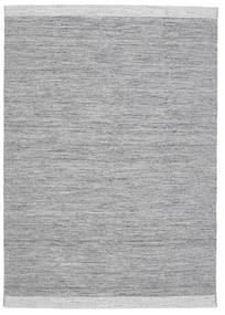 Serafina - Gri Închis Melange Covor 160X230 Modern Lucrate De Mână Gri Deschis/Albastru Deschis (Lână, India)