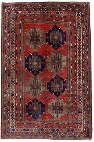 Mahal Covor 153X227 Orientale Lucrat Manual Roșu-Închis (Lână, Persia/Iran)