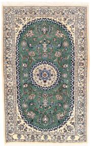 Nain Covor 168X253 Orientale Lucrat Manual Gri Deschis/Bej (Lână, Persia/Iran)