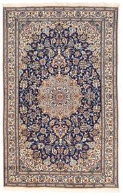 Nain Covor 155X250 Orientale Lucrat Manual Gri Închis/Roz Deschis (Lână, Persia/Iran)