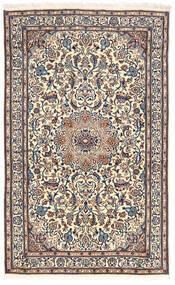 Nain Covor 155X255 Orientale Lucrat Manual Gri Deschis/Gri Închis (Lână, Persia/Iran)
