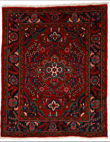 Lillian Covor 164X205 Orientale Lucrat Manual Roșu-Închis/Roşu (Lână, Persia/Iran)