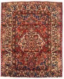 Bakthiari Covor 174X214 Orientale Lucrat Manual Maro Închis/Roșu-Închis (Lână, Persia/Iran)
