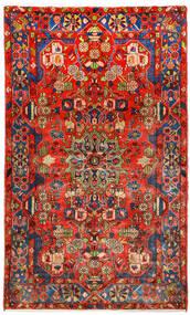 Nahavand Old Covor 145X250 Orientale Lucrat Manual Roşu/Roșu-Închis (Lână, Persia/Iran)