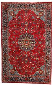 Mashhad Covor 190X308 Orientale Lucrat Manual Roșu-Închis/Maro Închis (Lână, Persia/Iran)
