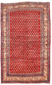 Arak Covor 125X205 Orientale Lucrat Manual Roșu-Închis/Roşu (Lână, Persia/Iran)
