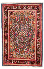 Kerman Covor 121X185 Orientale Lucrat Manual Roşu/Roșu-Închis (Lână, Persia/Iran)