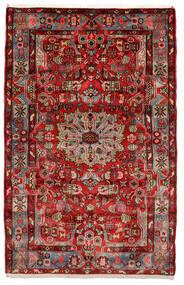 Nahavand Old Covor 153X243 Orientale Lucrat Manual Maro Închis/Negru (Lână, Persia/Iran)
