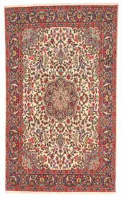 Kerman Covor 169X287 Orientale Lucrat Manual Gri Închis/Roșu-Închis (Lână, Persia/Iran)