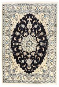 Nain Covor 170X250 Orientale Lucrat Manual Bej-Crem/Negru (Lână, Persia/Iran)
