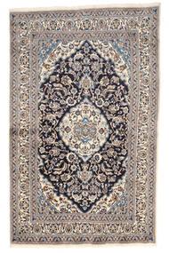 Nain Covor 155X249 Orientale Lucrat Manual Gri Deschis/Bej (Lână, Persia/Iran)