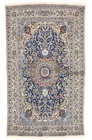 Nain Covor 155X262 Orientale Lucrat Manual Gri Deschis/Bej (Lână, Persia/Iran)