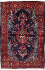 Mahal Covor 162X240 Orientale Lucrat Manual Roșu-Închis/Mov Închis (Lână, Persia/Iran)