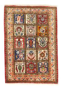 Bakthiari Collectible Covor 105X150 Orientale Lucrat Manual Roşu/Gri Închis (Lână, Persia/Iran)