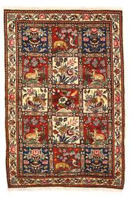Bakthiari Collectible Covor 115X170 Orientale Lucrat Manual Maro Închis/Bej-Crem (Lână, Persia/Iran)
