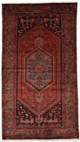 Zanjan Covor 128X236 Orientale Lucrat Manual Roșu-Închis (Lână, Persia/Iran)