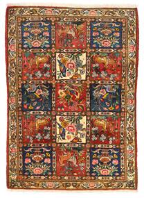 Bakthiari Collectible Covor 115X155 Orientale Lucrat Manual Maro Închis/Roşu (Lână, Persia/Iran)