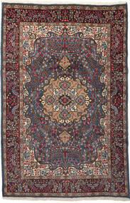 Kerman Covor 196X299 Orientale Lucrat Manual Roșu-Închis/Maro Închis (Lână, Persia/Iran)