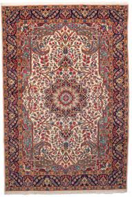 Kerman Covor 201X301 Orientale Lucrat Manual Roșu-Închis/Bej (Lână, Persia/Iran)