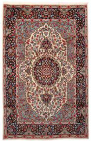 Kerman Covor 180X281 Orientale Lucrat Manual Roșu-Închis/Maro Închis (Lână, Persia/Iran)