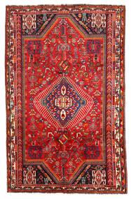 Shiraz Covor 171X272 Orientale Lucrat Manual Roșu-Închis/Ruginiu (Lână, Persia/Iran)