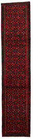 Afshar/Sirjan Covor 79X365 Orientale Lucrat Manual Roșu-Închis (Lână, Persia/Iran)