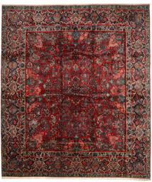Sarouk Covor 420X485 Orientale Lucrat Manual Roșu-Închis/Maro Închis Mare (Lână, Persia/Iran)